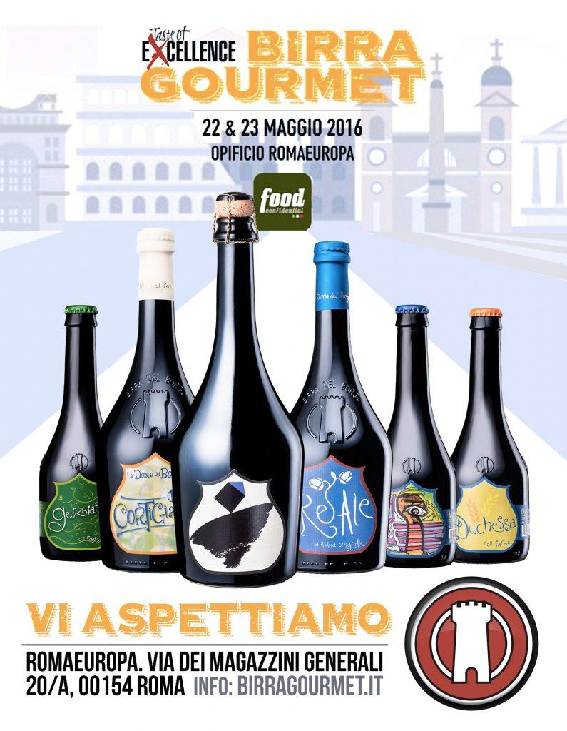 Birra del Borgo Gourmet